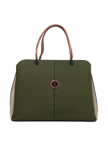 TH Bags   Kadın Omuz Çantası Th-Yk14205 Hak Haki